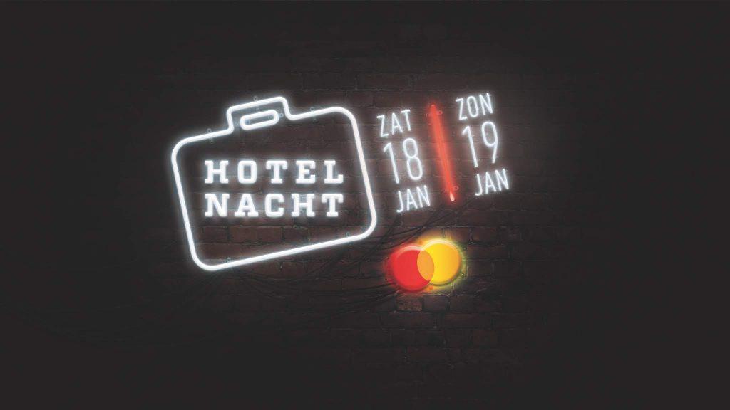 Programma Hotelnacht bekend
