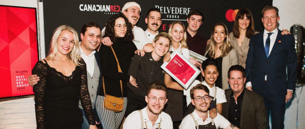 Winnaars Belvedere Best Hotel Bar bekend